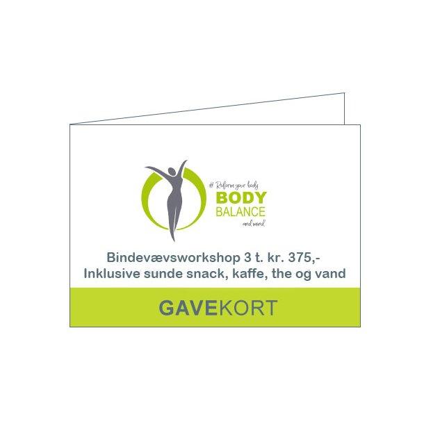 Gavekort - Fasciel training, balance and stretch