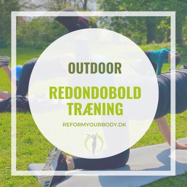 OUTDORE - Redondoboldtræning med stropper