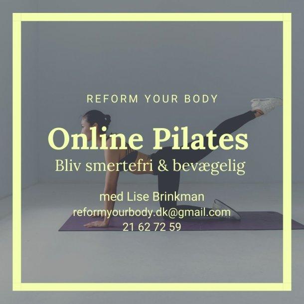 Pilates - ONLINE via ZOOM