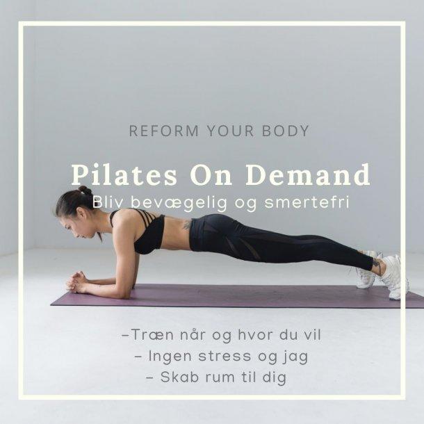 Pilates - ONLINE - On Demand