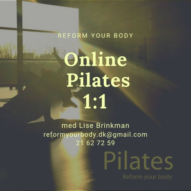Pilates 1:1 ONLINE